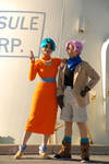 DBGT Cosplay - Mom and Son