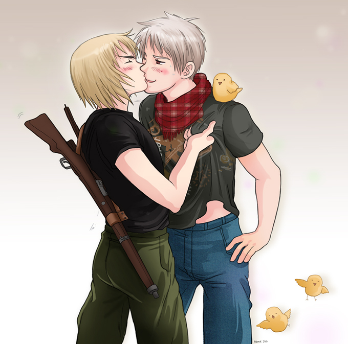 Switzerland x Prussia by TechnoRanma