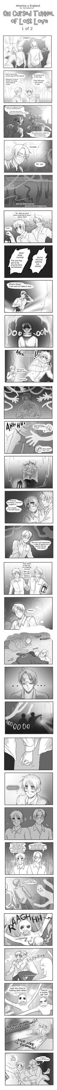 USUK - Tunnel of Lost Love pg1 by TechnoRanma