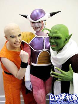 Bald, Shiny, Green