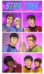 Star Trek TOS by TechnoRanma