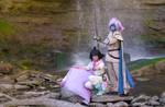 Slayers Cosplay Waterfall