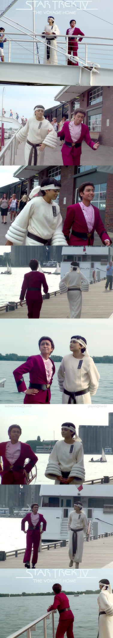 Star Trek IV: The Voyage Home COSPLAY by TechnoRanma