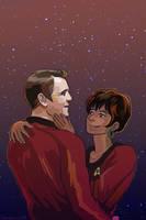 ST: TOS Scotty x Uhura by TechnoRanma