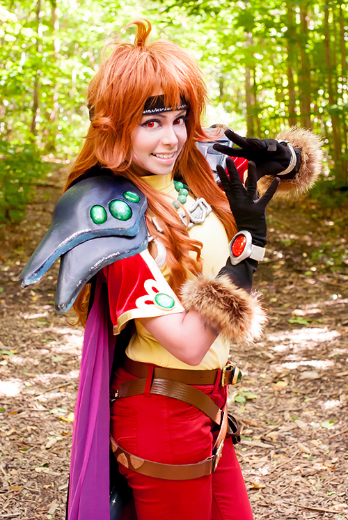 Lina Inverse OVA Cosplay by TechnoRanma