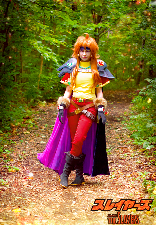 Lina Inverse OVA Cosplay 2 by TechnoRanma
