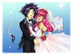 Beyblade Wedding: Ray and Mariah