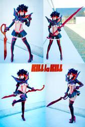 Kill La Kill - Ryuko Matoi cosplay by TechnoRanma