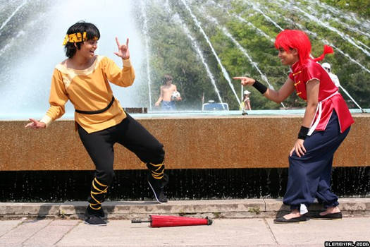Cosplay - Ranma and Ryoga