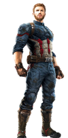 Infinity War Captain America 1 - Transparent