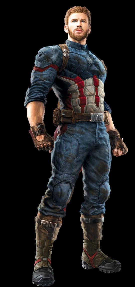 Infinity War Captain America 1 - Transparent by Captain-Kingsman16