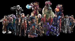 Infinity War Team - PNG