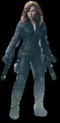 Civil War Black Widow 3 - Transparent by Captain-Kingsman16