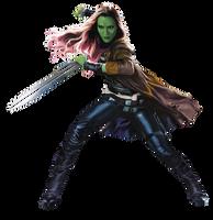 Gamora 2 - PNG by Captain-Kingsman16