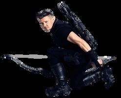 Infinity War Hawkeye 1 - PNG by Captain-Kingsman16