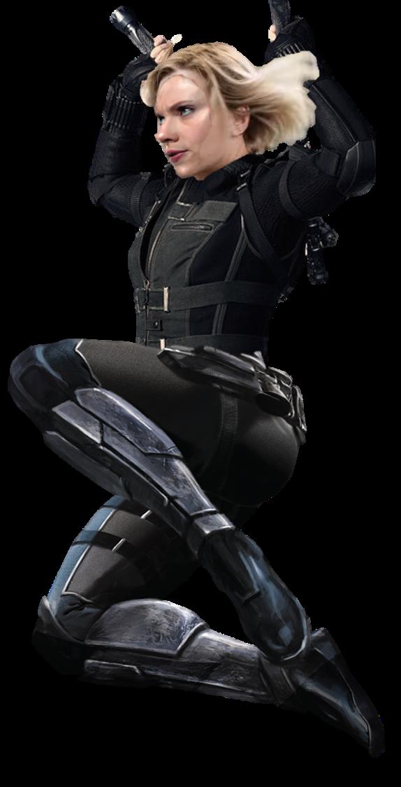 Infinity War Black Widow (2) - PNG by Captain-Kingsman16 ...