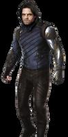 Infinity War Winter Soldier (1) -(UPDATED)- PNG