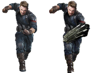 Infinity War Captain America (3) - PNG by Captain-Kingsman16