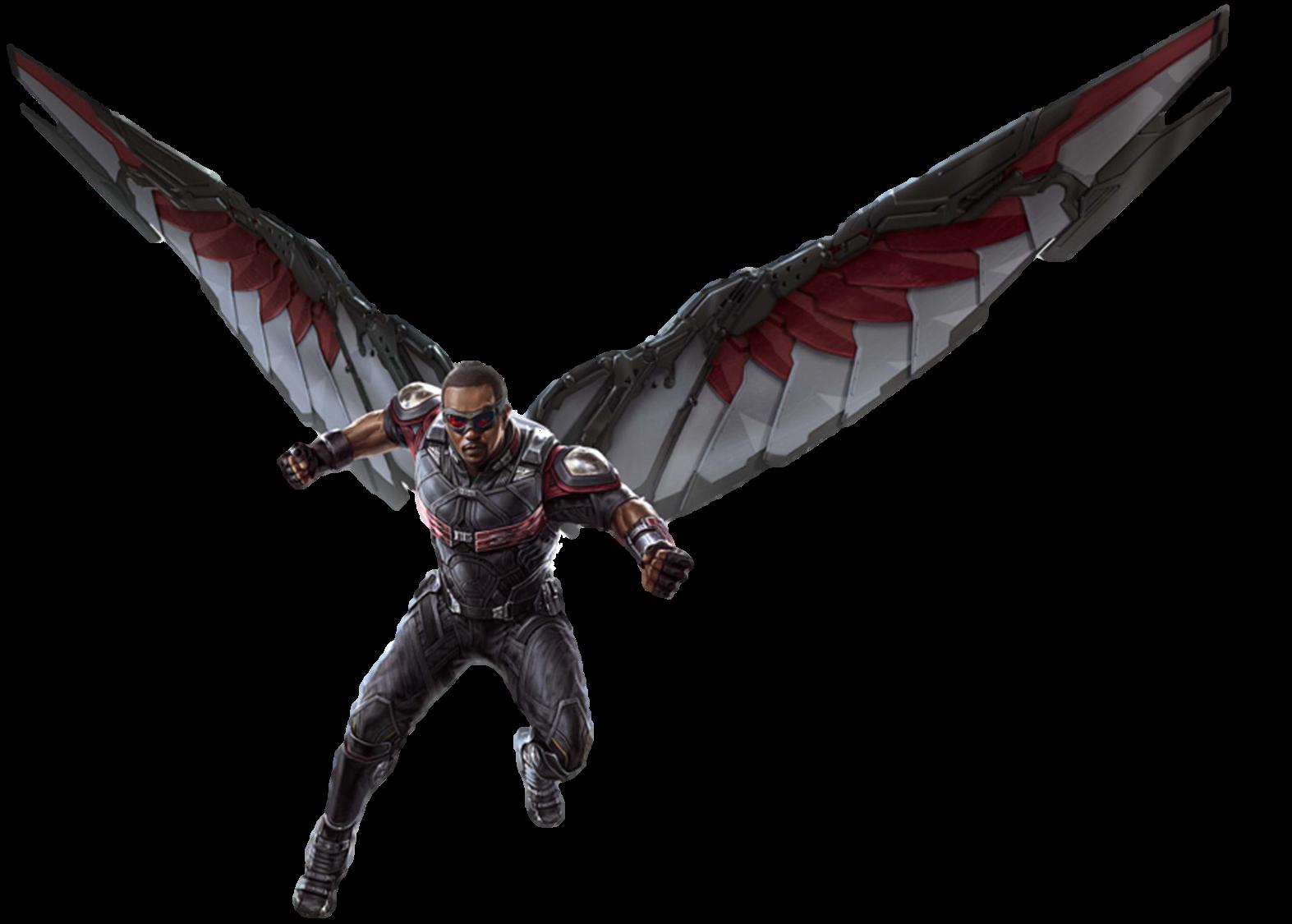 Infinity War Falcon (1) - PNG by Captain-Kingsman16