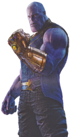 Infinity War Thanos (3) - PNG by Captain-Kingsman16