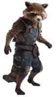 Infinity War Rocket Raccoon (2) - PNG