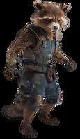 Infinity War Rocket Raccoon (2) - PNG by Captain-Kingsman16