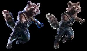 Avengers Endgame Rocket Raccoon (1) - PNG by Captain-Kingsman16