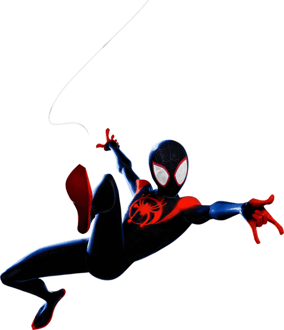 Into The Spider Verse Miles Morales 1 Png By Captain
