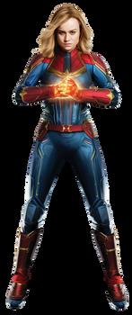 Captain Marvel (3) - PNG by Captain-Kingsman16