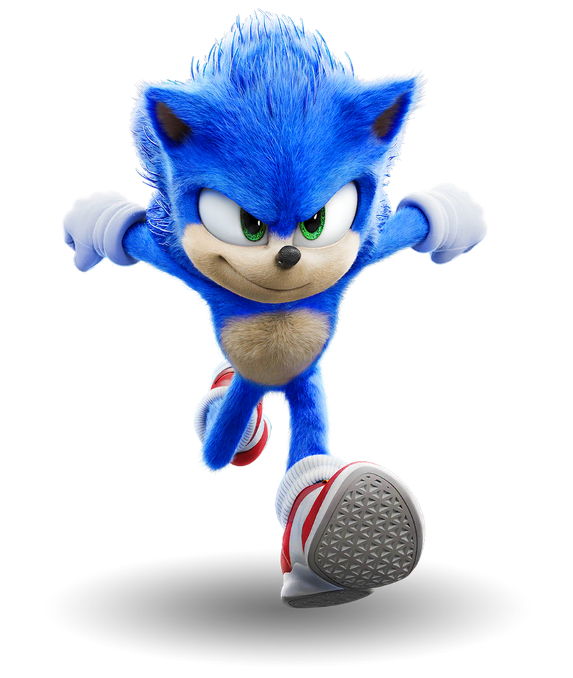 Sonic The Hedgehog Movie 1 Png By Captain Kingsman16 On Deviantart