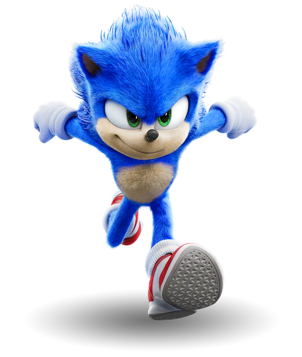 Sonic The Hedgehog Movie 1 Png By Captain Kingsman16 On