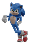 Sonic the Hedgehog (Movie) (4) - PNG