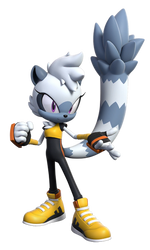 Tangle the Lemur - Render