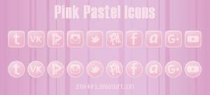 Pink Pastel Icons