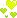 yellow heart (right) by Zmei-Kira