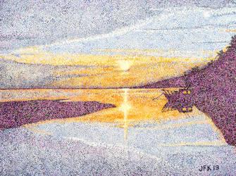 Sun Rises on Bohol by jfkpaint
