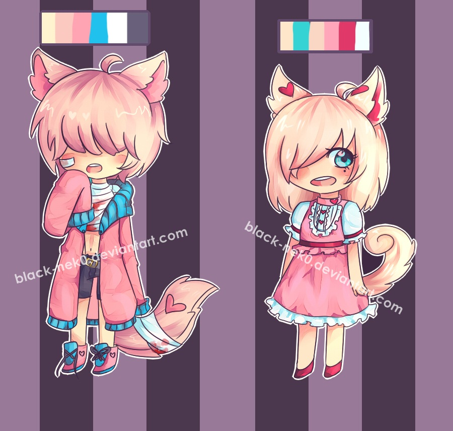 lil kids Adoptables AUCTION (closed) by insane-hopeless