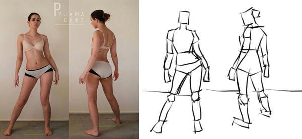desenho 2 desafio poses by mr-avenger