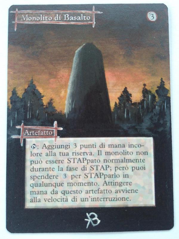 mtg alter basalt monolith by bluindigo on deviantart deviantart