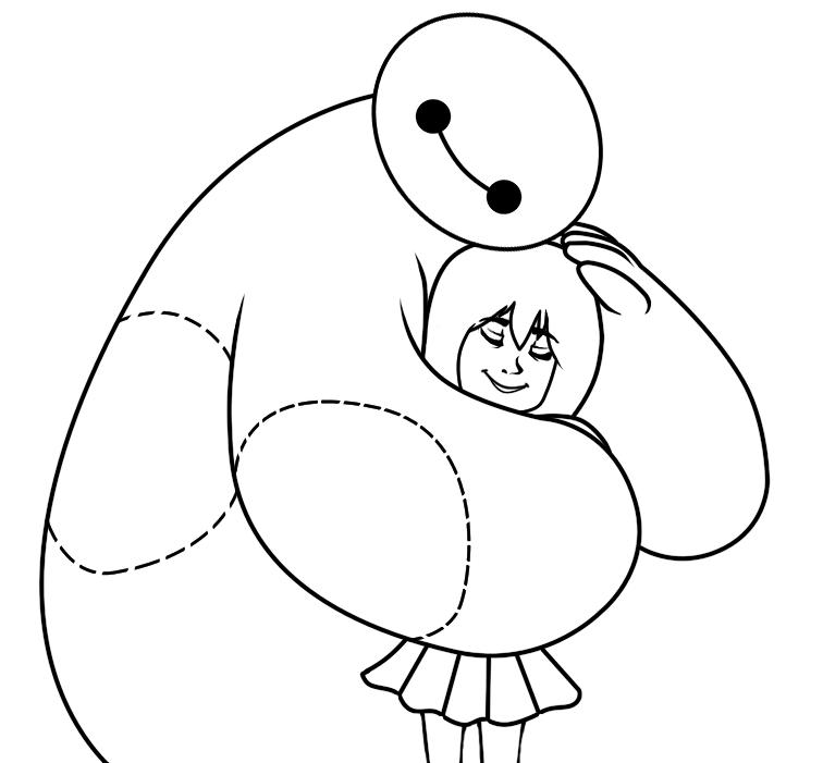 Baymax Hug by DaSuperFantomStick