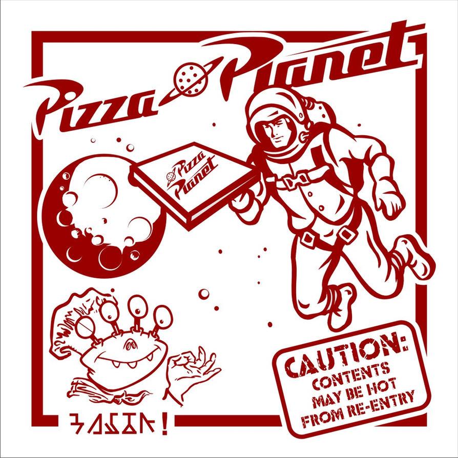 Pizza Planet Box by Cedar-Street-Studio on DeviantArt
