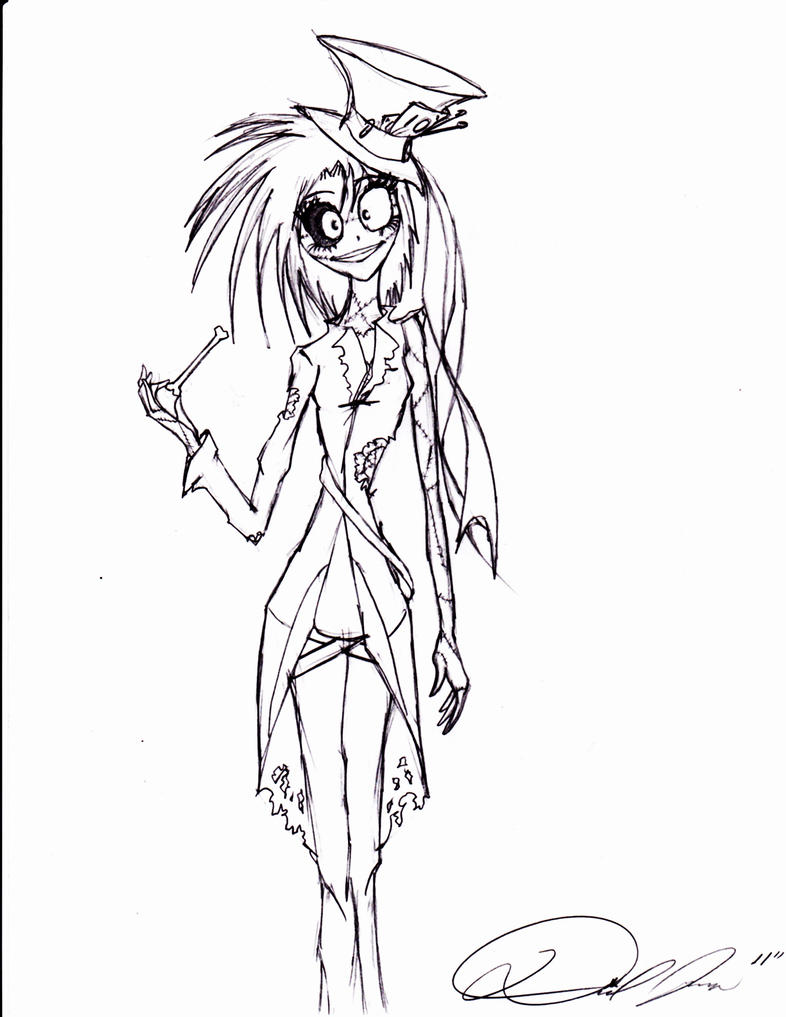 Baby jack nightmare before christmas coloring page coloring pages