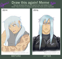 Before and After Meme: Kyle Centari