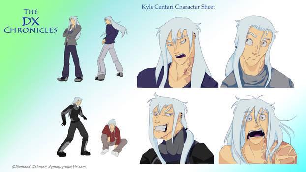 Character sheet Kyle Centari