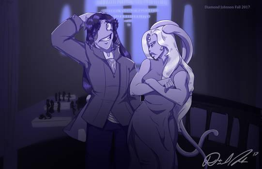 Cyrus and Lorelei
