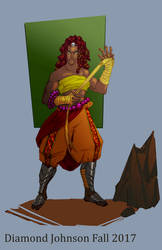 Character Design: Eshe the Fighter