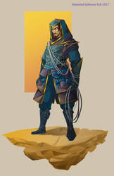 Assassin Character Design