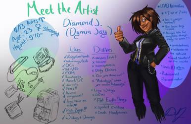 Meet the Artist Meme: Dymin Jay