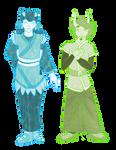Lady Shinju and Fu Zang