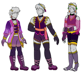 Wesley's Crew outfits